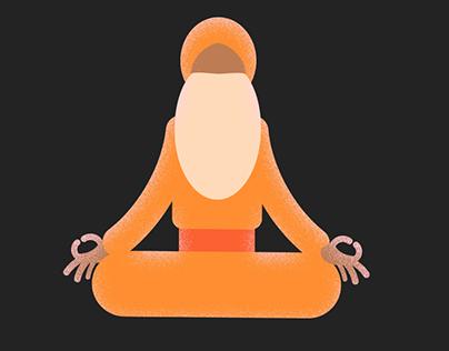 Fake 3D Yogi