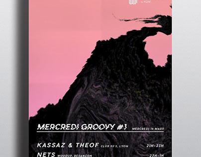 MERCREDI GROOVY #1 - POSTER