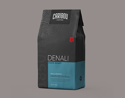 Caribou Coffee Rebrand Concept