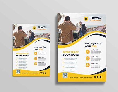 Travel Flyer design handout design poster design