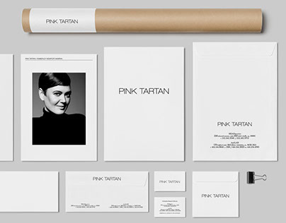 Pink Tartan | Identity, Packaging, Book, Signange & Web