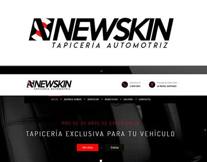 NEWSKIN Chile - Diseño Web