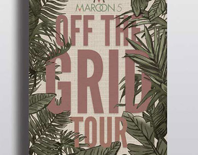 "Maroon 5 ""Off the Grid"" Tour"