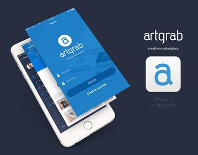 Artgrab iOS & Android App