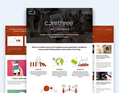 Corethree Brand refresh
