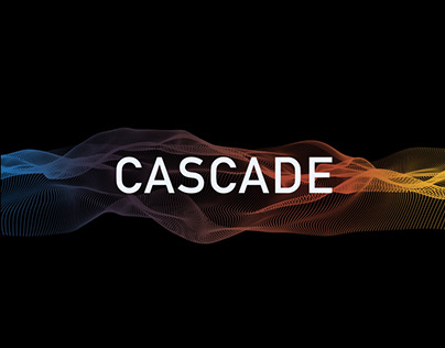 TEDxGUC - Cascade visuals