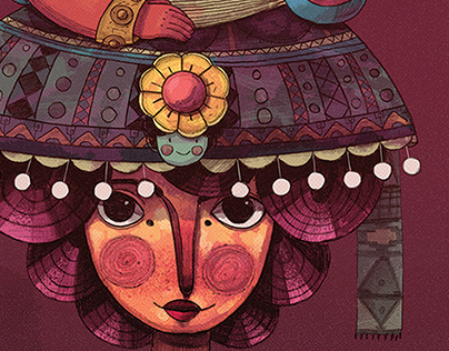 mamacita art poster