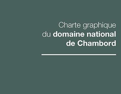 Charte graphique CHAMBORD - RCP design