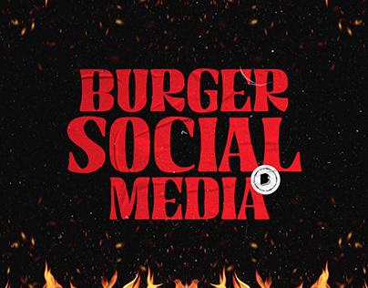 Burger Social Media