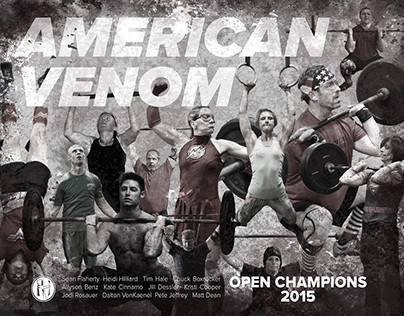 Open Champions Poster