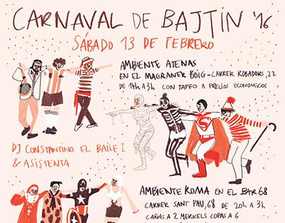 Poster for the Bajtin Carnival '16