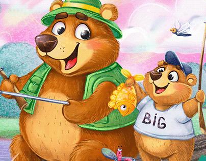 Happy Bears Illustrations