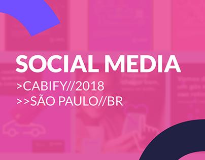 Social Media | Cabify