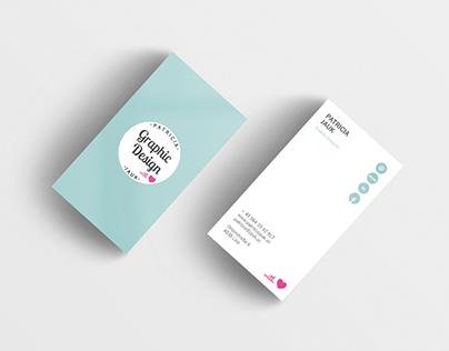 Business Card Design Patricia Jauk Graphic Design