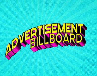 Billbord. Advertisment billboards
