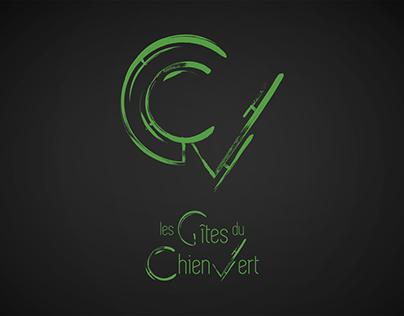 Les Gîtes du Chien Vert - Branding and website