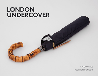 London Undercover Website Redesign