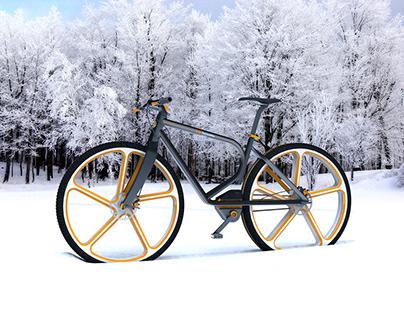 Snow-Bike Concept