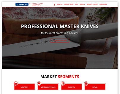 Website: Tramontina Professional Master Knives