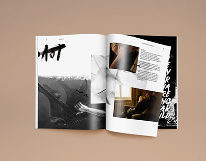 Publication Design: Acetone Vol.: 1