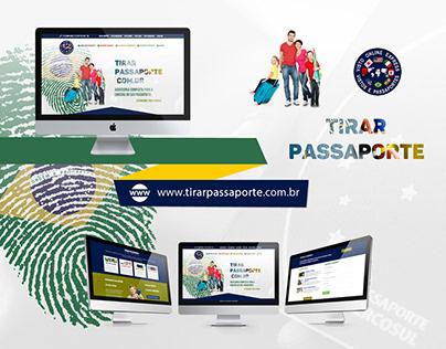 Web Design | Website Tirar Passaporte (VOE)