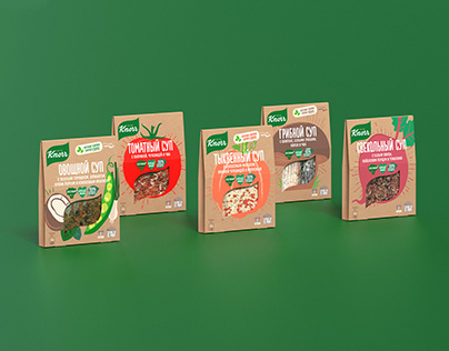 Knorr Soups' New Range for Russian Market