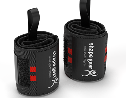 Shape Gear Sports 3D Modeling and Rendering
