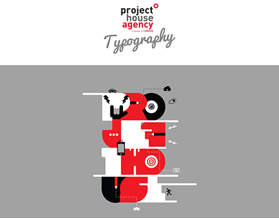Project House Agency - Concept Design & Typography