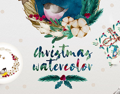 Christmas Watercolor