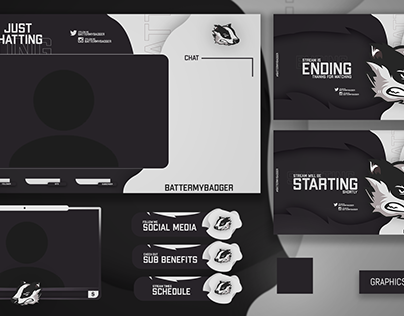 BATTERMYBADGER STREAM PACKAGE