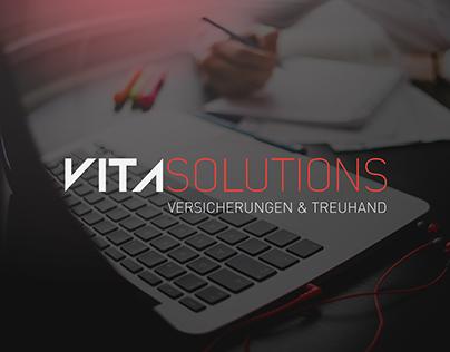 VitaSolutions visual identity