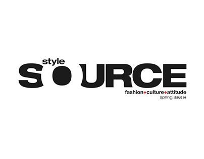 Masthead for Style Source Magazine