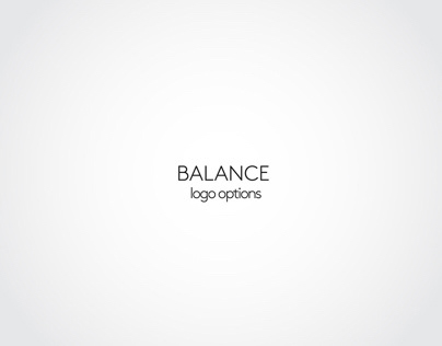 balance logo options