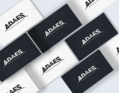 ADAES Space institution - Rebranding Logotype