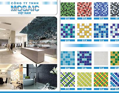 Brochure đá Mosaic