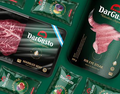 Packaging for Dar Gusto
