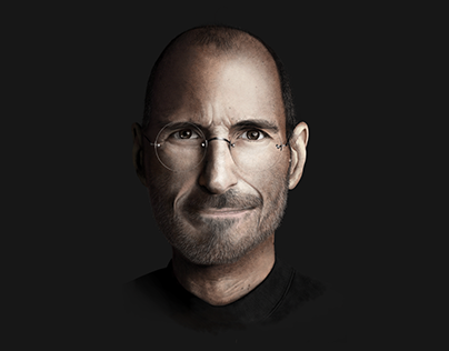 Steve Jobs - Digital Illustration