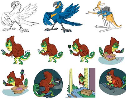 L&D Character Design Archive: Non-Human