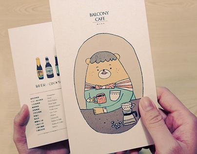 Balcony CAFE|2o13's new menu
