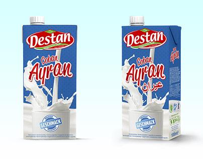 Product Design for Destan Çoban Ayran Tetrapack