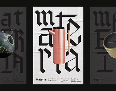 Materia | Exhibition Branding