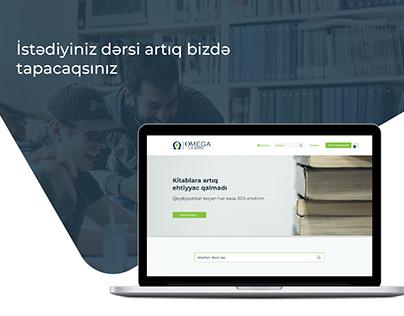 Webdesign for OmegaLearn