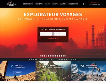Complete platform for a Travel Agency