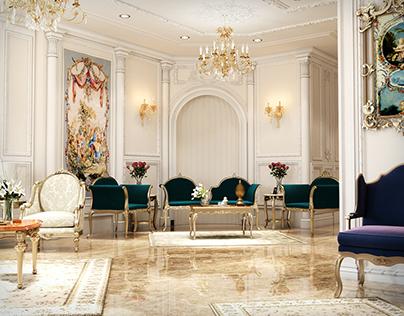Classic Villa reception design