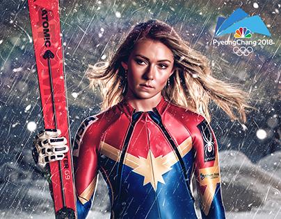 2018 PyeongChang Olympics Social Media Artwork