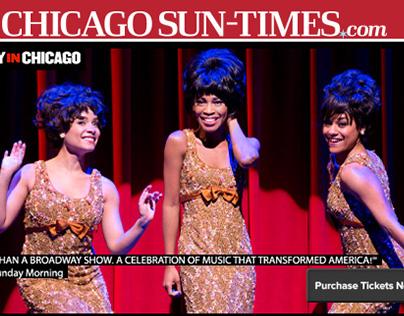 Chicago Sun Times Logos/ Comics/ Advertising