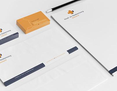 Corporate identity Huid- en Oezeemzorg Zeeland