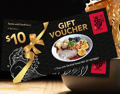 Matsuri Ramen Gift Voucher