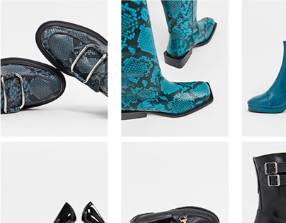 Footwear still life, model shots and video for ASOS