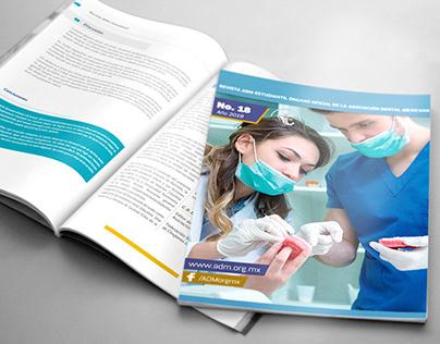 Revista Estudiantil ADM-Diseño Editorial